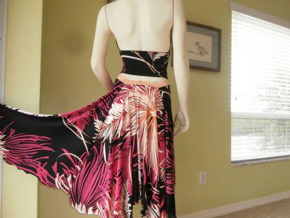 Argentinian Tango & Salsa Costume Dress Skirt by COCOsDANCEWEAR