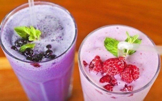 10 tipů na osvěžující mléčné koktejly