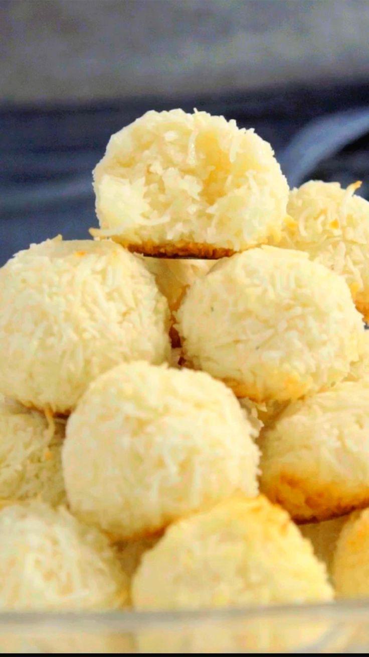 A sua família vai amar essa receita de biscoito de coco fácil e delicioso!                                                                                                                                                                                 Mais