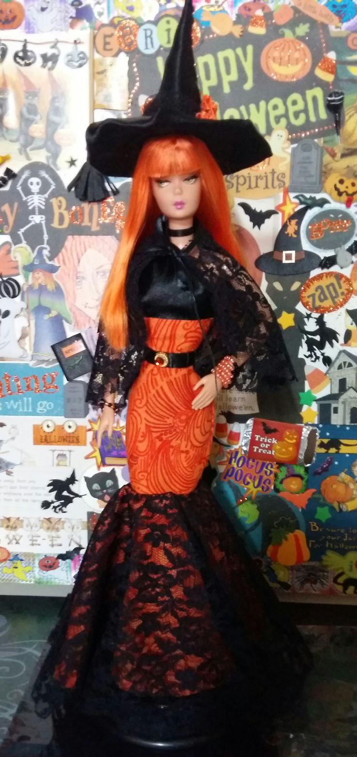 My witch barbie