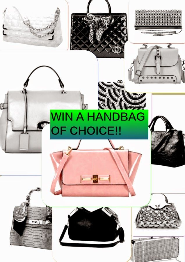 MyStyleSpot: GIVEAWAY: WIN a Handbag of Your Choice! #contest #win #handbag #purse #bag of choice! OPEN WORLDWIDE, Ends march 24,2015. #mystylespot #fecbek #fashion #shopping #blogger #style #clothing #apparel #women #ladies #accessories