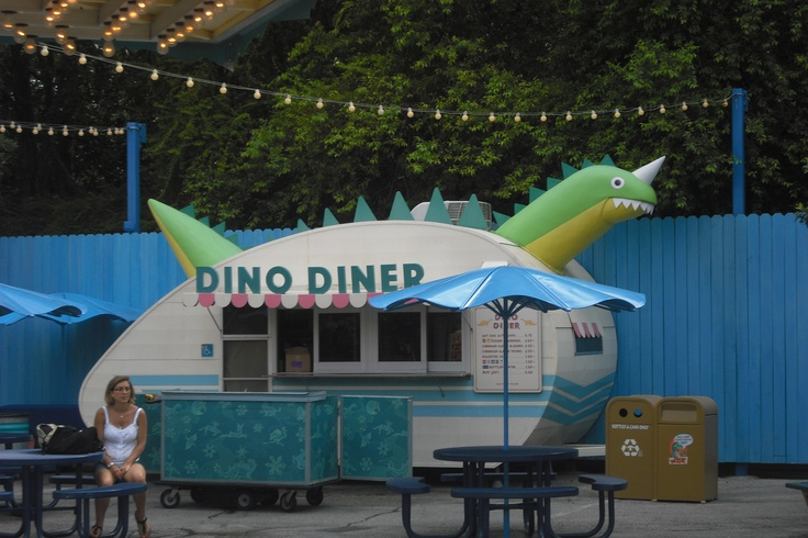 Dino Land - Wonder if it is real beef??