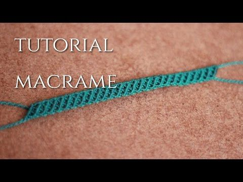pulseras de hilos faciles tutorial macrame | frienships bracelets - YouTube