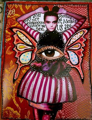 teesha moore: Journaling Assemblages Collage, Art Sketchbook Journal, Collages Art Journals, Journaling Recycled Books, Altered Books, Artists Teesha Moore, Artist Teesha Moore, Artjournal Pages Alteredbooks, Art Journaling