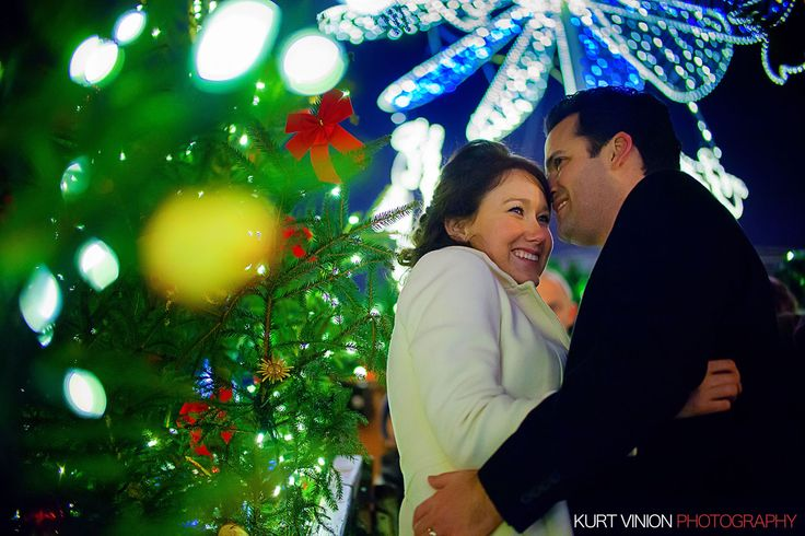 A wonderful couple from the US who wanted a simple yet beautiful Christmas Engagement Portrait Session - http://www.pragueweddingphotography.com