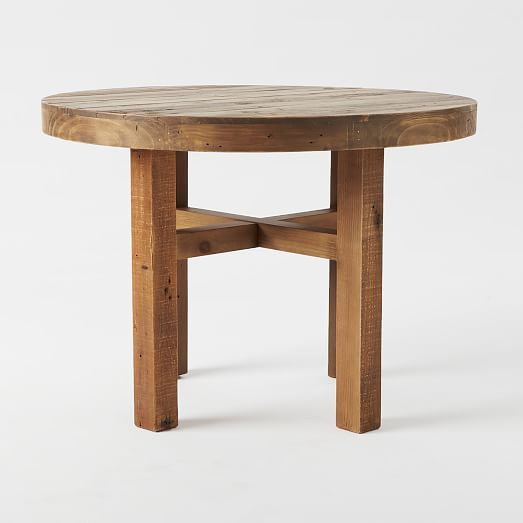round wood tables for sale emmerson reclaimed wood dining table west elm 7821