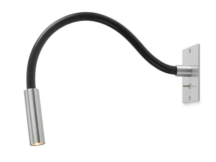 LAMPADA DA LETTURA A LED CON BRACCIO FLESSIBILE SCAR-LED 1FDS BUILT-IN 95 SERIE SCAR-LED BY TRIZO21