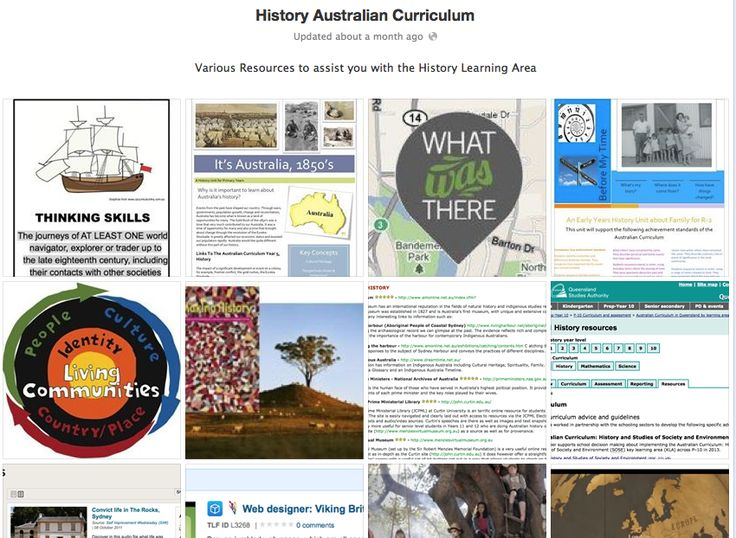 28 Australian Curriculum HISTORY Lessons and activity ideas. Includes forward…