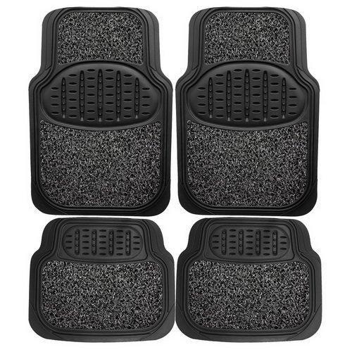 Floor Mats For Cars, Universal Heavy Duty Rubber /sponge Combo Car Floor Mat Set