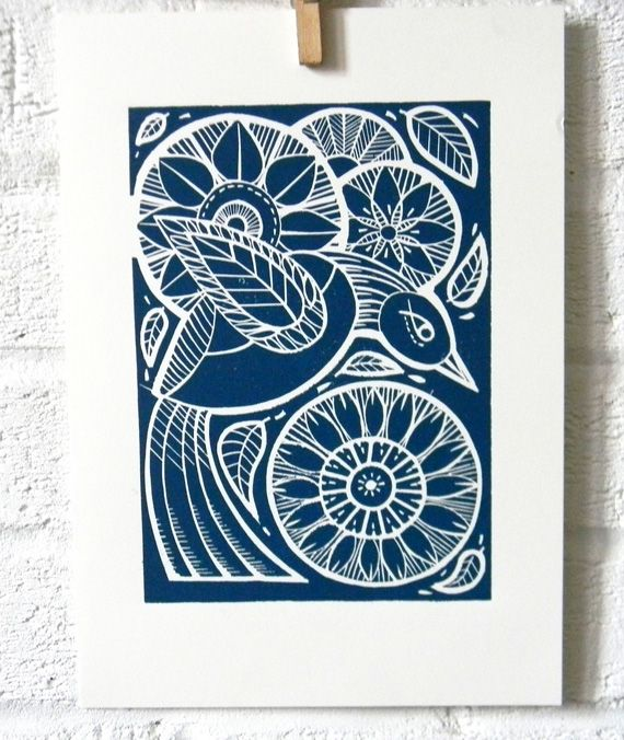 Deborah Sibley, linocut artists and the voice behind Alamodeus Her Mangle Prints are featured on her website here . If you love her ...