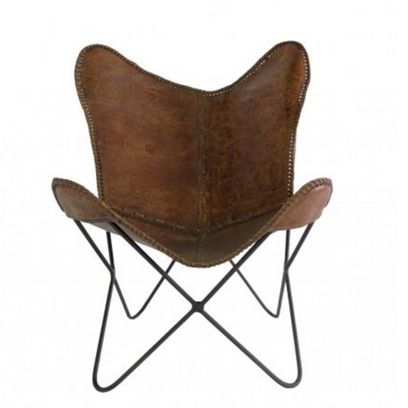 Marvelous Leather Butterfly Chair Great Ideas