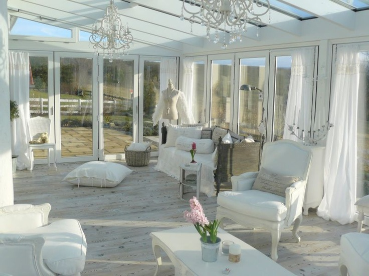14 besten wintergarten bilder auf pinterest wintergarten - Gartenhaus shabby streichen ...
