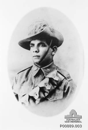 Horace Dalton - Aboriginal soldier officially recognised 50 years after his death...  www.cas.awm.gov.au/item/P00889.003  www.abc.net.au/news/2012-09-29/aboriginal-soldier-officially-recognised-50-years/4287722  **