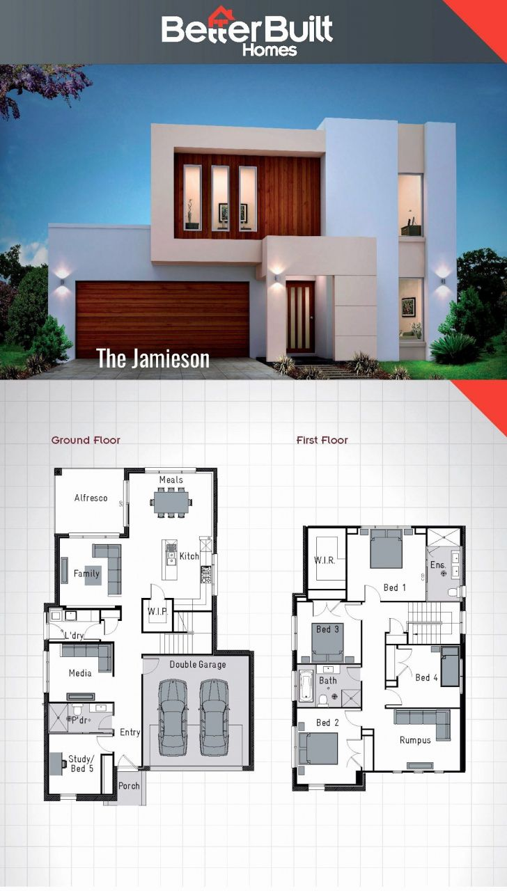 201 Design Your House 2016 Double Storey House 2 Storey House Design House Layouts