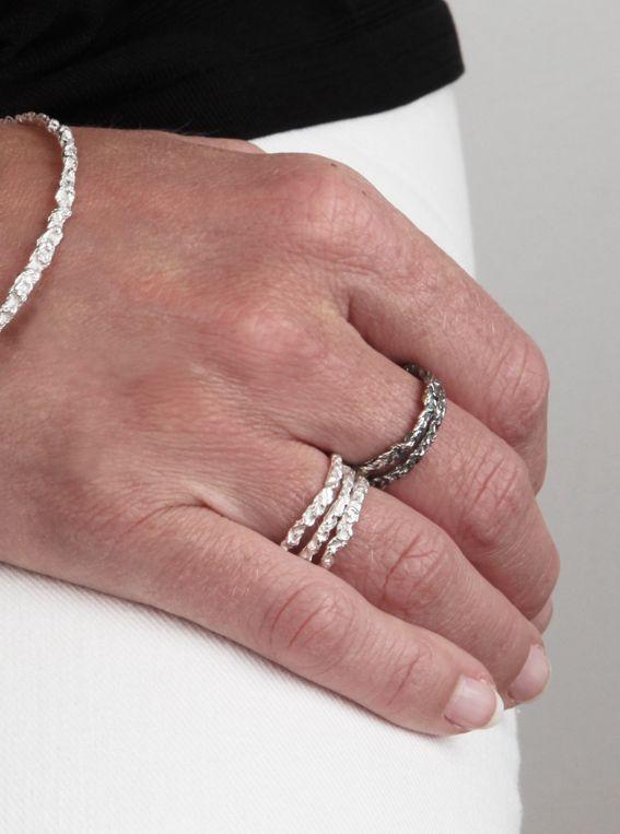 fijn gehaakte ringen   mieke de been • sieraden