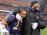 Ravens' Ray Rice channels Ray Lewis in final practice before Broncos game