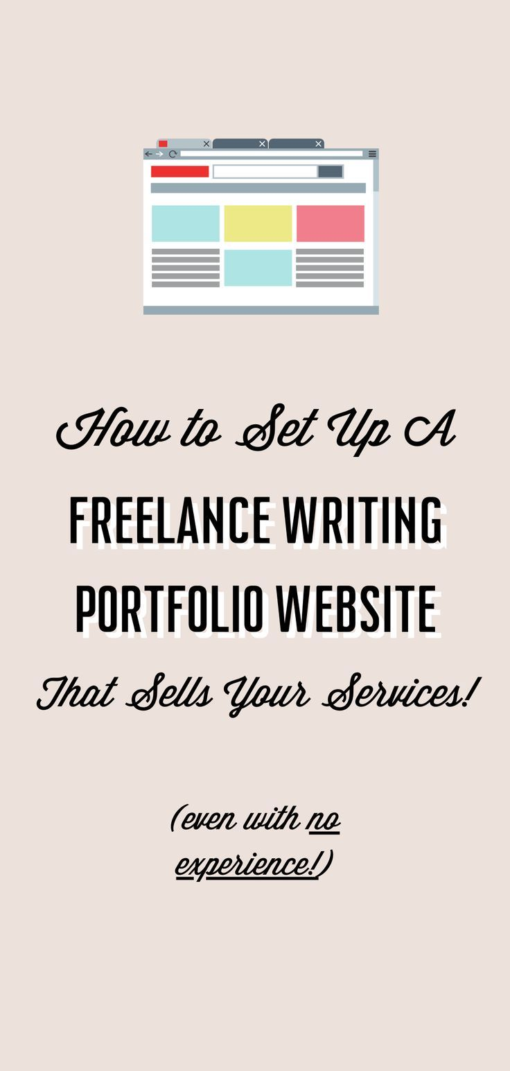 The Complete Guide To Setting Up Your Freelance Writer Website In One Day Or Less In 2020 Freelance Writer Website Writing Jobs Freelance Writing Portfolio