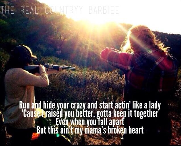 Mama's Broken Heart by Kacey Musgraves. Amazing singer/songwriter!