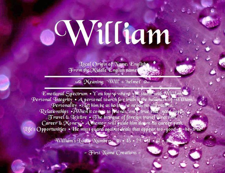 Williams Origin