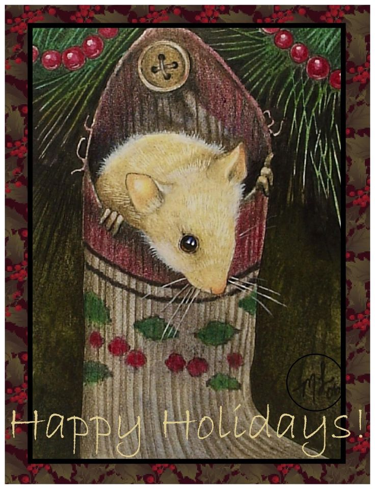 Christmas Mouse by Melody Lea Lamb