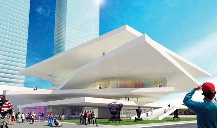 Latin American Art Museum for Miami with residences ranging from $2M-$20M to be located in Miami.  Site undisclosed.