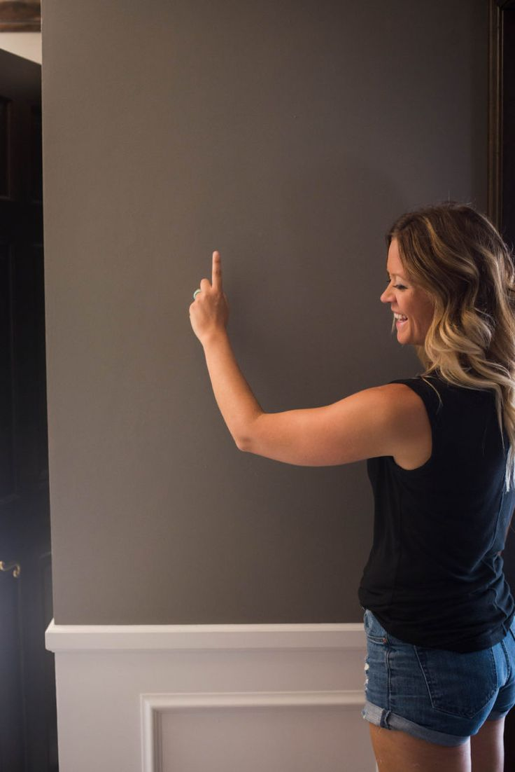 Guide to picking the perfect paint color for your home. Gravel by Restoration Hardware | construction2style