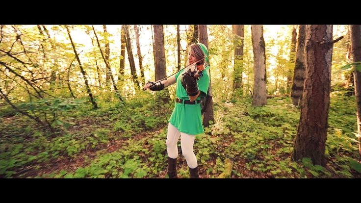 Taylor Davis - Kokiri Forest (From #Zelda: Ocarina of Time) #violin #cosplay