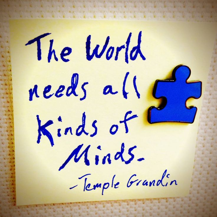 Of course! #autism #autismquotes #quoteoftheday #quotes #templegrandin #autismawareness #autismacceptance #respectautism #whatweneed #αυτισμός #αυτισμός_ηράκλειο