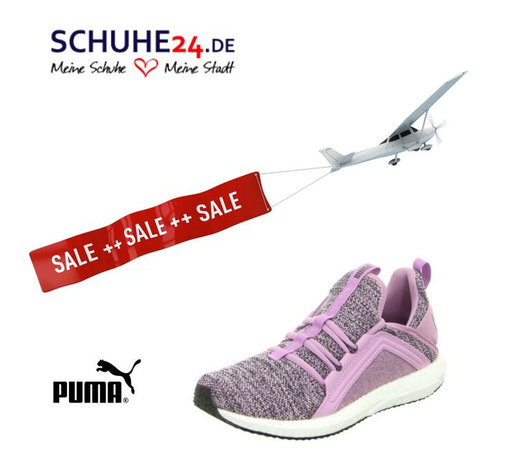 Fly into spring with the new Puma sneakers - pink Preis 65,80Euro (Art:  250-50-00028) und schwarz 65,80Euro (Art: 250-00-00072) #shoes  #newcollection ...