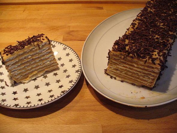 Koekjeskoek Wil jij ook indruk maken met een mooi zelfgemaakt gebakje bij de koffie? Met dit recept kun je gemakkelijk een lekker taartje aan je visite voorschotelen. Zeker als je houdt van mokka met een tikje chocolade, moet je dit eens…