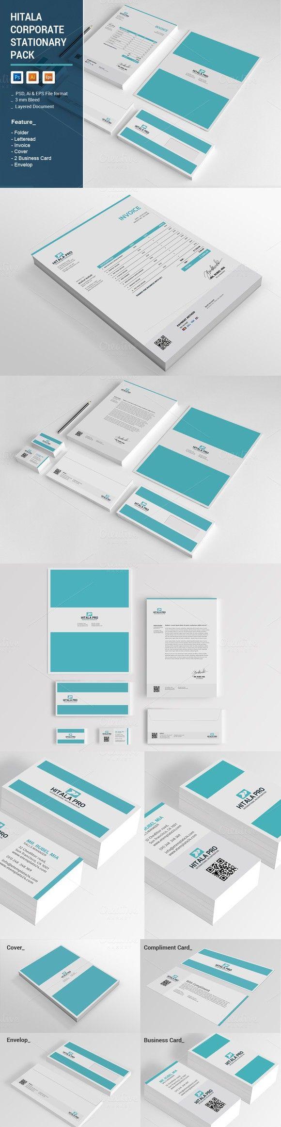 Hitala Corporate Stationary Pack