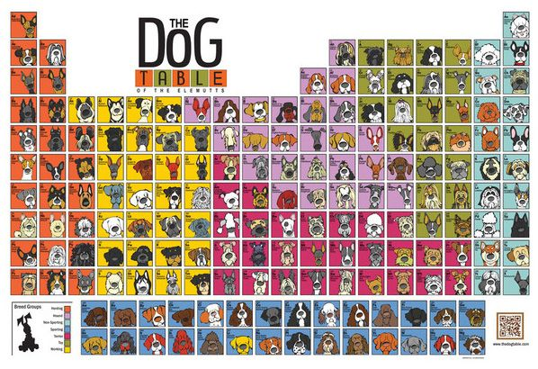 Get The Original Dog Table Poster while it lasts. This is the last printing of the original Dog Table and once it is gone it will not be reprinted.  .