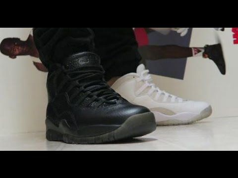 Drake Air Jordan OVO 10 Black VS White Sneakers #PickOne