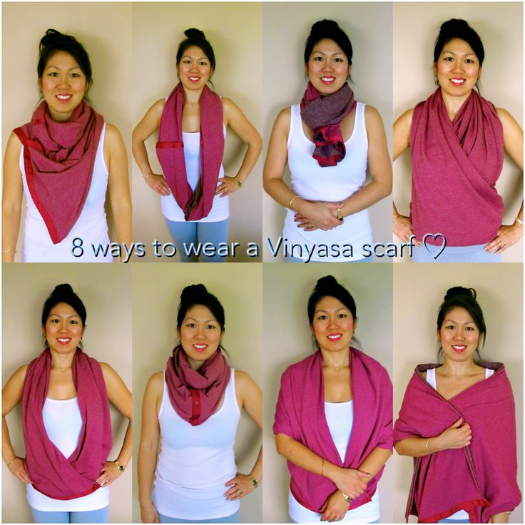 Beauty, Bites & Adorations: Scarf-Ace: Eight Ways to Wear a Lululemon Vinyasa ...