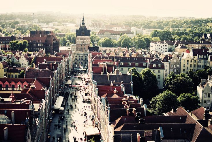 #Gdansk from st. Mary's #Church