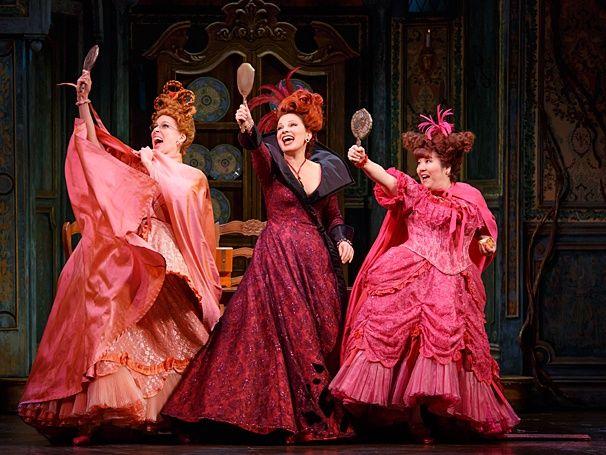 RODGERS & HAMMERSTEIN'S CINDERELLA (2014) ~ Fran Drescher on Broadway as the stepmother.