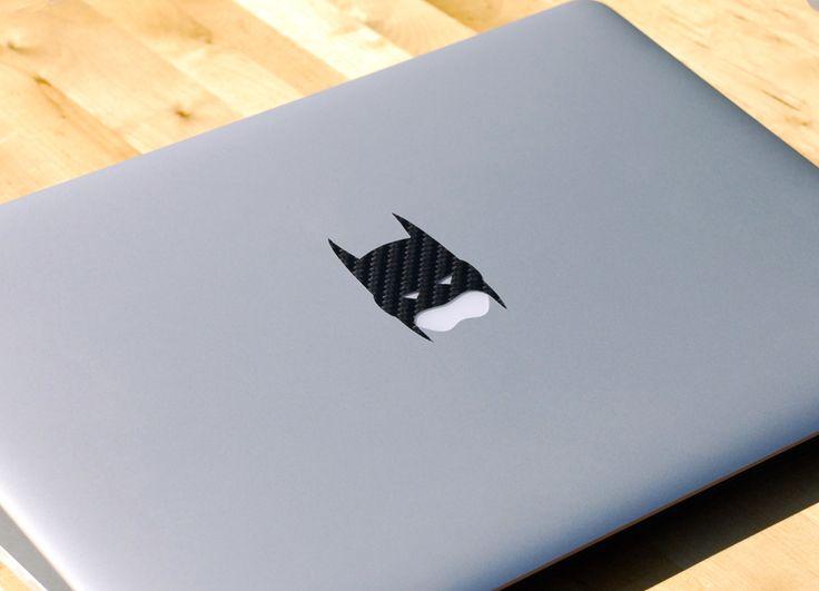 Fancy - Carbon Fiber Batman MacBook Decal