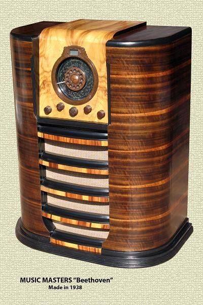 1938 Music Masters Beethoven Radio