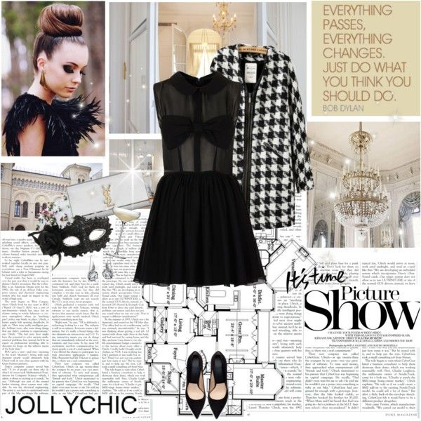 """""""Masquerade Party Outfit!! :)"""" by electric-bird on Polyvore FREE ITEM: http://www.jollychic.com/freetrial.html?a_aid=electricbird"""