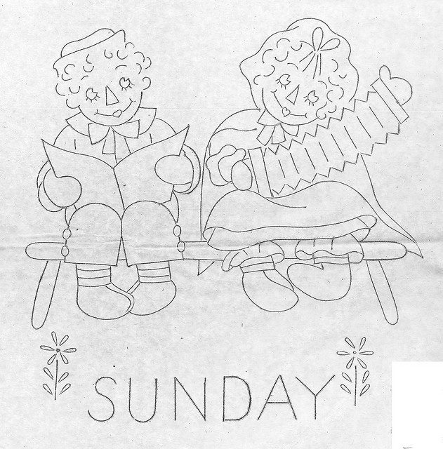 Raggedy Ann-Sunday