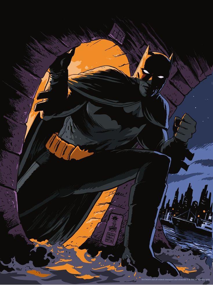 Batman: Detective Comics Cover by Francesco Francavilla – Mondo