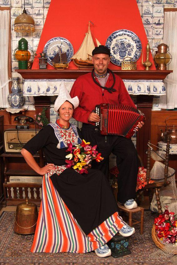 Costume of Volendam, North Holland, The Netherlands