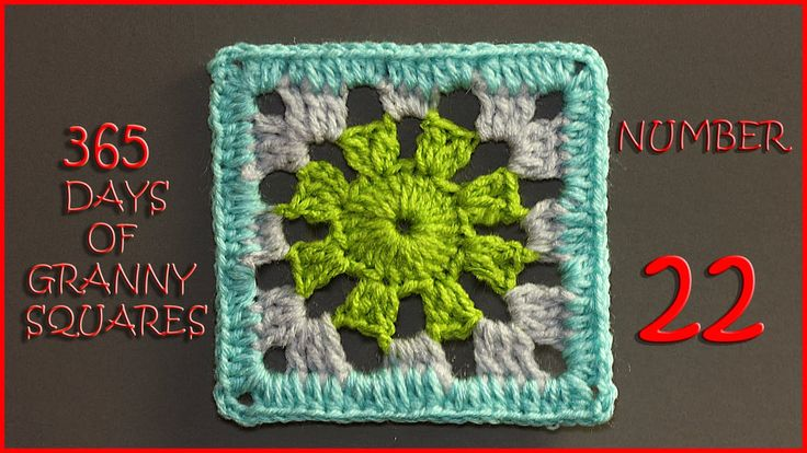365 Days of Granny Squares Number 22