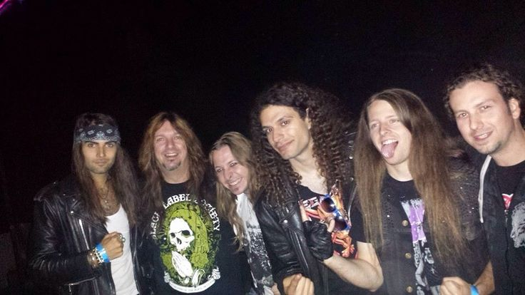 """Rusted and Dave """"Snake"""" Sabo from Skid a Row !"""