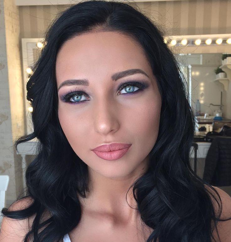 My beauty of today  #makeupbyme #makeupartist #makeupaddict #maccosmetics #makeupforever #urbandecay #anastasiabeverlyhills #