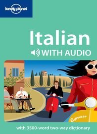 Italian Phrasebook With Audio | http://paperloveanddreams.com/book/423946424/italian-phrasebook-with-audio | Read it, hear it, speak it � Lonely Planet phrasebooks on iPadIt's a lot of fun saying 'ciao!' as you wander the street of Rome, but having a bit more of the Italian language at your disposal does prove useful. With search functionality to find phrases easily, Lonely Planet�s Italian phrasebook with audio caters to your on-the-road language needs. Offering a unique mix of written and…