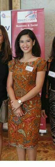 Dian Sastrowardoyo #Dress #Batik #Indonesia