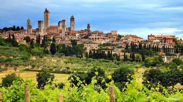 SAN GIMIGNANO, Toscana ITALIA
