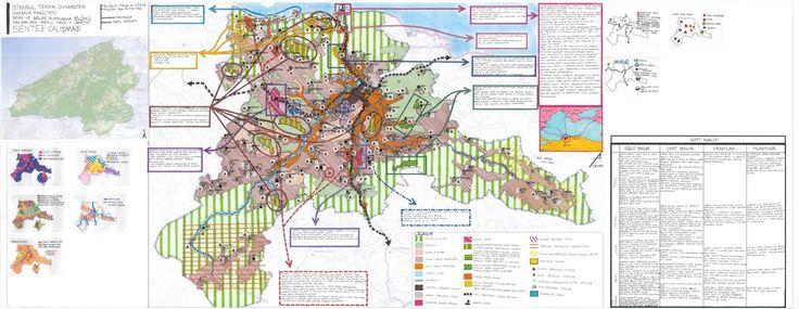 şehir ve bölge planlama, 2012-2016: İ.T.Ü. Mimarlık Fakültesi, Şehir ve Bölge Planlaması Bölümü, 2014-2015 Güz Yarıyılı PROJE V / Bartın - 1/50000 ve 1/5000 Sentez & Öneri Çalışması Paftaları