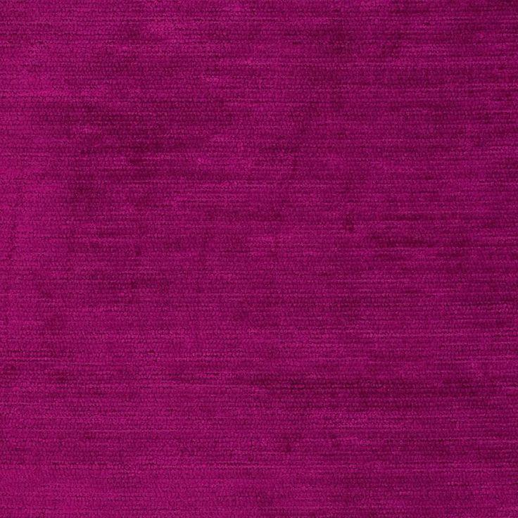 Ramtex Empress Textured Velvet Very Berry From